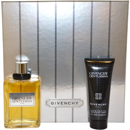 - Givenchy Gentleman by Givenchy for Men Gift Set 3.3 Ounce EDT Spray, 2.5 Ounce All Over Shampoo