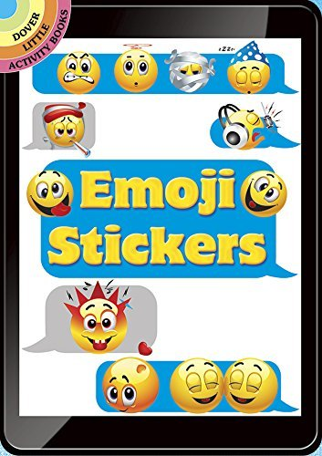 Emoji Stickers (Dover Little Activity Books Stickers) by Dover - Shopping Mall Dover