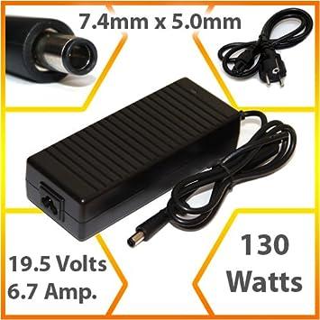 Lavolta - Adaptador de corriente/cargador compatible para ordenador portátil Dell Precision M90 (130 W) - ST097: Amazon.es: Informática