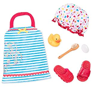 "Our Generation by Battat- Duck & Bubbly Bath Set Outfit- 18"" Doll Clothes & Accessories Toys- for Age 3 Years & Up"