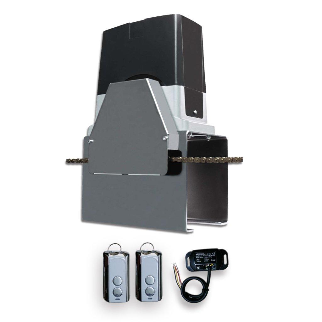 Beninca Automatic Slide Chain Bull 624C Gate Opener, Receiver, 2 remote Control
