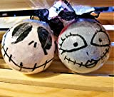 Jack and Sally Bath Bomb Nightmare Before Christmas Large Bath Bomb