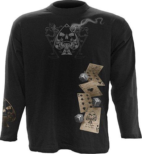 Spiral - Mens - Dead Mans Hand - Longsleeve T-Shirt Black - M