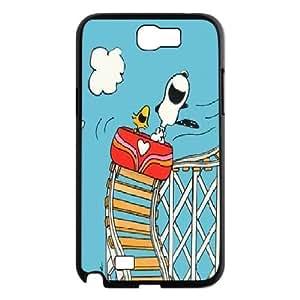 LSQDIY(R) Snoopy Samsung Galaxy Note 2 N7100 Case Cover, Customized Samsung Galaxy Note 2 N7100 Cover Case Snoopy