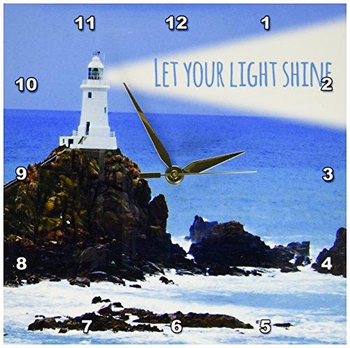 3dRose dpp 155657 1 Lighthouse Shining Inspiring