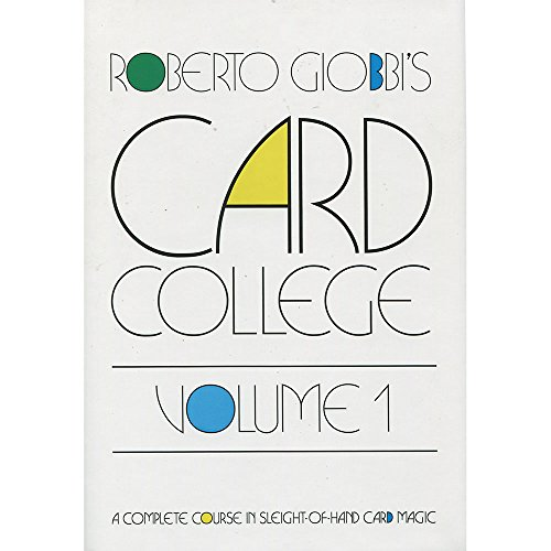 Card College Volume 1 by Roberto Giobbi - Book