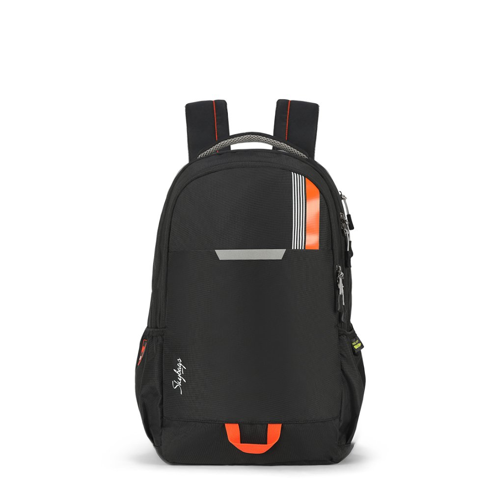 Skybags Komet 49 Ltrs Black Laptop Backpack (SBKOM01BLK)