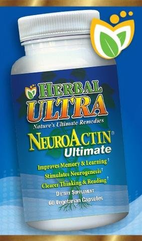 NeuroActin Ultimate - Premium Support of Healthy Brain and Memory Function