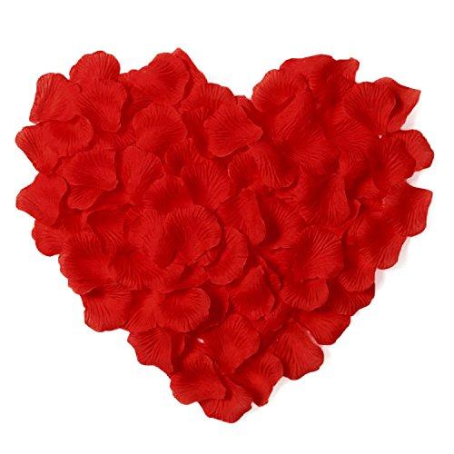 Simplicity 500pcs Silk Flower Rose Petals Wedding Party