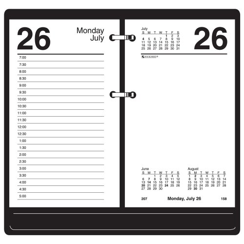 AT-A-GLANCE Calendar Refill, Daily Desk, 3-1/2 x 6 Inches, 2010 (E71750)