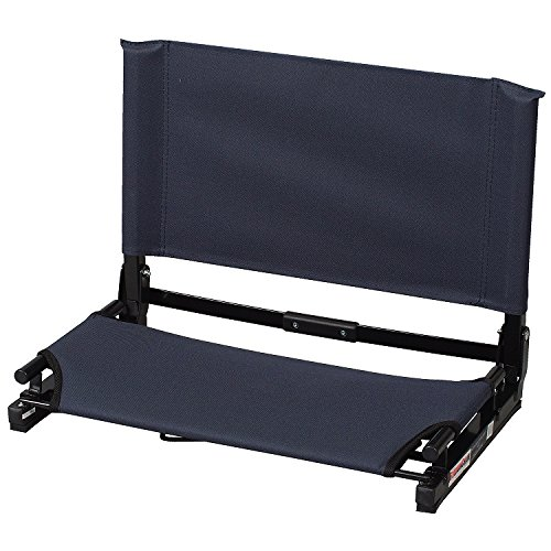 (Graphite) - The Stadium Chair Co. Deluxe Wide Model GAMECHANGER Stadium Chair   B01DAN2U7Y