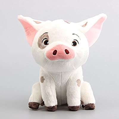 "Pua Stuffed Movie Moana Pet Pig Animals Cute Cartoon Plush Toy Dolls 8"" 20 cm Children Gift: Toys & Games"