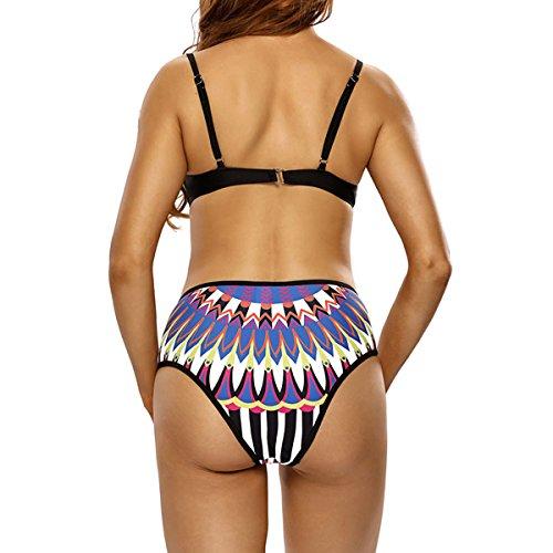 Badeanzug Vs410083 Mehrfarbig Mode Dissa Bademode 2018 Tankini Damen