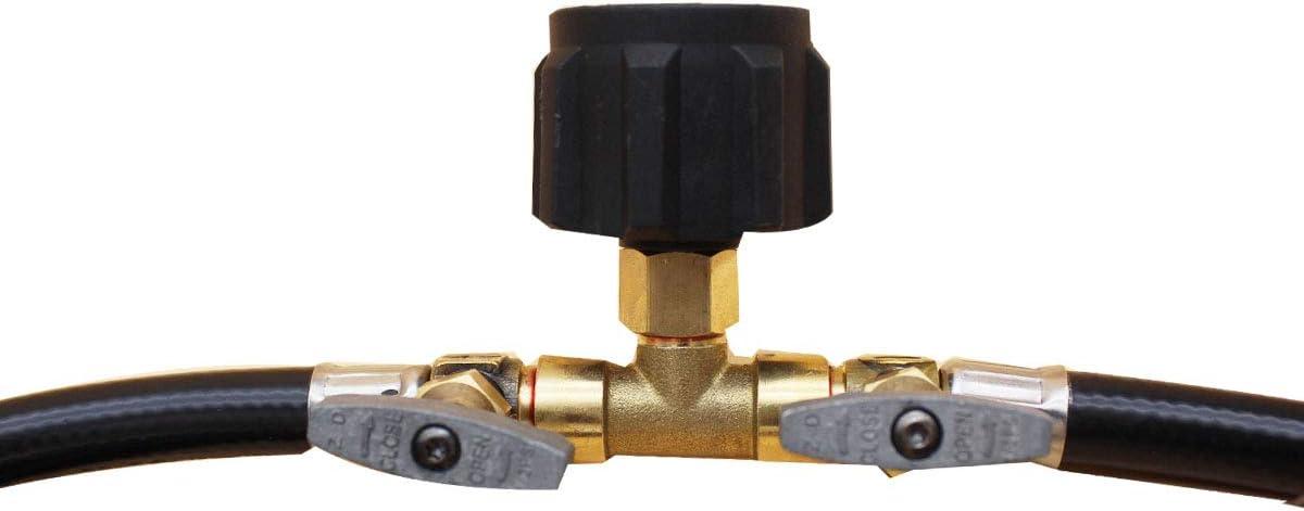 CCH-Adapters 1pc T RO Tipo inversa de agua Sistema de acuario de /ósmosis Conector 1//4 3//8 de di/ámetro exterior del tubo r/ápido Acoplamiento de uni/ón en T de montaje Size : B6.3mm A6.3mm C6.3mm