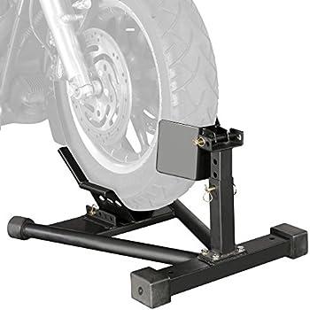 Amazon.com: Venom Universal Motorcycle Wheel Tire Chock ...
