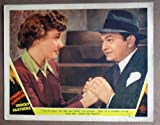DO50 Unholy Partners EDWARD G ROBINSON c/u orig '41 LC. This is an original lobby card; not a dvd or video. Lobby cards were used to advertise film playing at theater and they measure 11 by 14 inches.