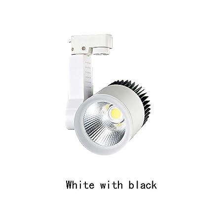 Proyector de Pista Luz de Techo Interior LED Interior Ajustable ...