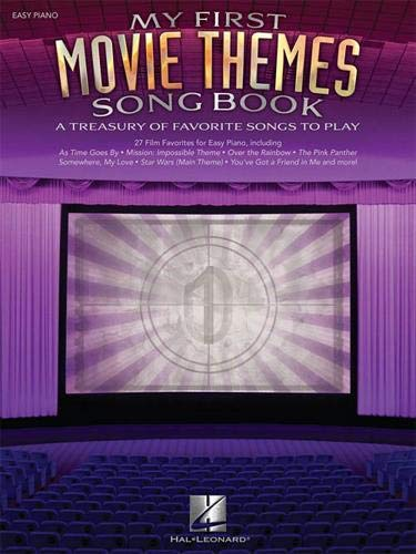 - Hal Leonard My First Movie Themes Songbook for Easy Piano