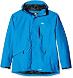 Trespass Men's Corvo Waterproof Jacket, Blue, 2X-Large