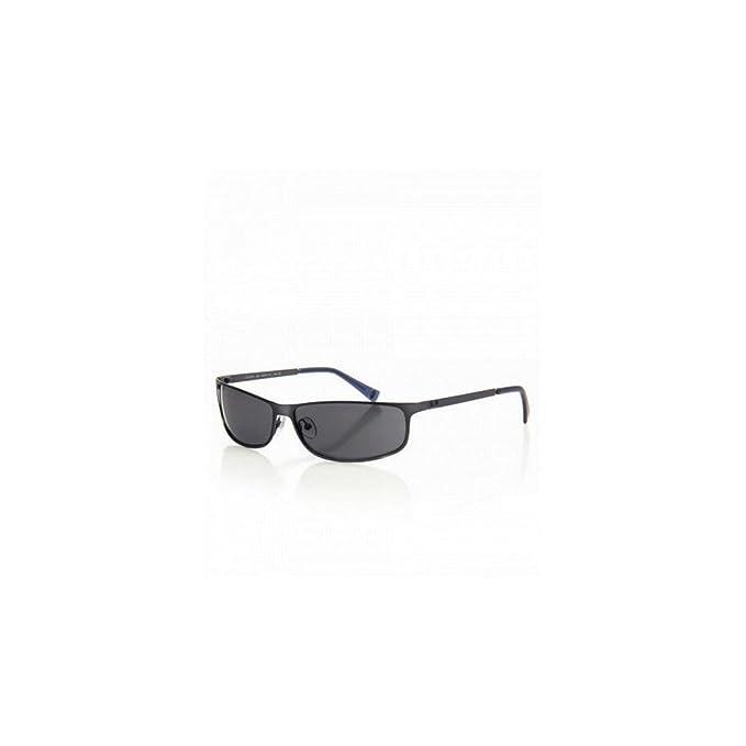 Adolfo Dominguez Ua-15076-243 Gafas de Sol, Gris Metalizado ...