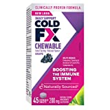 COLD-FX Grape Chewable 45 Tablets