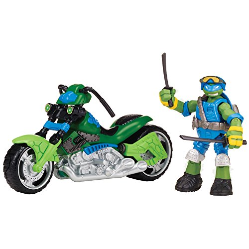 Teenage Mutant Ninja Turtles Mutating Quad Rotor Vehicle with Leonardo Vehicle (Teenage Mutant Ninja Turtles Bad Guys)