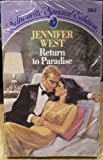 Return to Paradise, Jennifer West, 0373092830