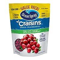 Amazon.com deals on 10-Pack Ocean Spray Craisins Dried Cranberries, Reduced Sugar