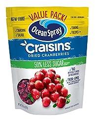 Ocean Spray Craisins Dried Cranberries, ...