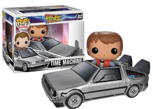 Funko POP Movie (Vinyl): Back to The Future - Delorean Action -