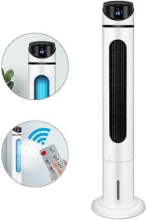 Ventilador de torre, ventilador silencioso sin hojas con pantalla ...