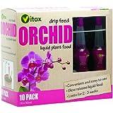 Vitax - Flaconcini di fertilizzante liquido a rilascio lento per orchidee, 30 ml, confezione da 10 flaconi
