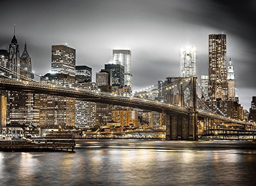 New York Skyline Jigsaw Puzzle, 1000 Pieces, Made in Italy