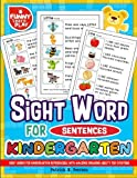 Sight Words for Kindergarten Reproducible with Amazing Engaging Ability for Ever: Sight Words Kindergarten Ideal for Recognizing & Learning Trends for Kids (Sight Word Books) (Volume 1)