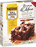 Toll House Brownies & More Chocolate Baking Mix with Semi-Sweet Chocolate Morsels, 17.5 oz