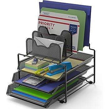 Amazon Com Simplehouseware Mesh Desk Organizer With