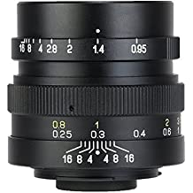 Mitakon Speedmaster 25mm f/0.95 Mirrorless Lens for M4/3 MICRO FOUR THIRD SYSTEM Super Large Aperture (Zhongyi)