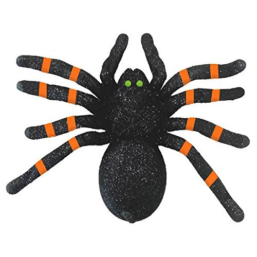 Amscan | Halloween Trick or Treat Party Decoration | Halloween Glitter Spider |  Measures 6 1/4
