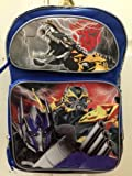 "Transformers Large Backpack - Robot Dinosaur 16"" Backpack License Product"