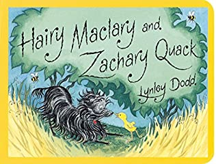 book cover of Hairy Maclary and Zachary Quack