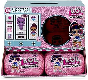 Lol Surprise Expositor 12 Under Wraps: Juguetes y juegos - Amazon.es