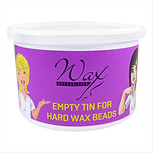 (Wax Necessities Empty Refill Wax Can for Wax Beads 400g 14.1oz (Size Fits Most Warmers))