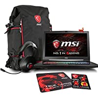 MSI GT73VR TITAN PRO-872 17.3 Gaming Laptop - Intel Core i7-7820HK (KabyLake), NVIDIA GTX 1080, 32GB RAM, 1TB SSD + 1TB HDD + Gaming Bundle