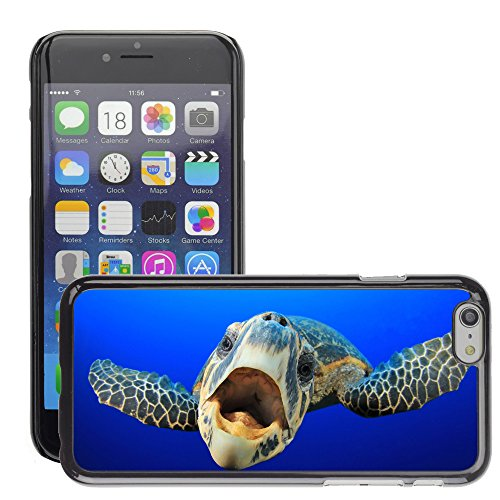 Premio Sottile Slim Cassa Custodia Case Cover Shell // V00002096 tortue de mer // Apple iPhone 6 6S 6G PLUS 5.5""