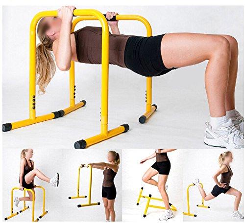 Barras paralelas de gran calidad para hacer ejercicios de calistenia