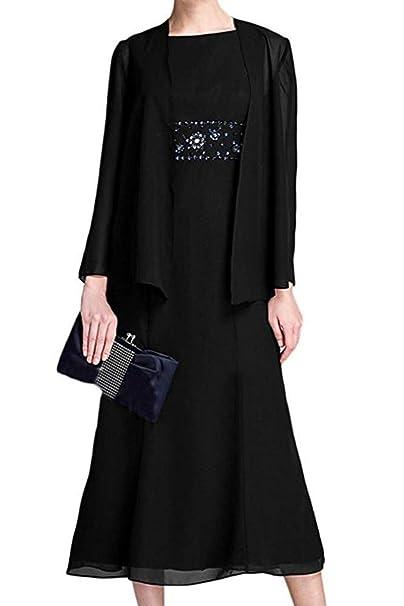 Amazon.com: Vestido de gasa con cuentas para mujer, vestido ...