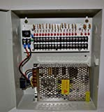 CCTV Power Supply Distribution Box - 12V DC 18 channels High Output 20 Amps