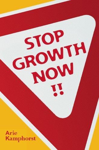 Stop Growth Now!! pdf epub