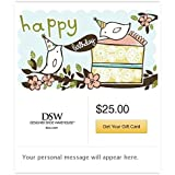 DSW Designer Shoe Warehouse Gift Cards - E-mail Delivery