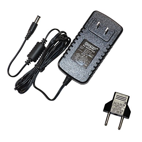 HQRP AC Adapter for Samson Expedition XP106 Portable Sound System Power Supply Cord Charger Adaptor Samsontech XP-106 + Euro Plug Adapter